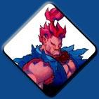 Akuma artwork #1, Street Fighter Alpha