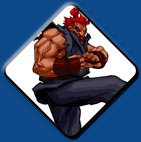 Akuma artwork #4, Super Street Fighter 2 Turbo HD Remix