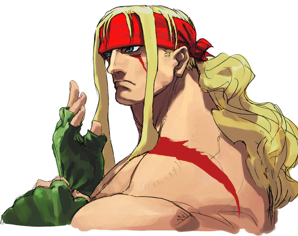 Alex artwork #1, Street Fighter 3
