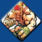 Alex artwork #2, Street Fighter 3