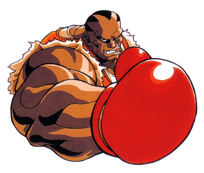 Balrog artwork #9, Street Fighter 2