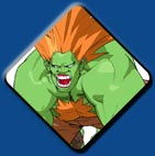 Blanka artwork #2, Street Fighter Alpha