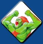 Blanka artwork #1, Street Fighter 2