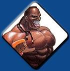 Dee Jay artwork #2, Street Fighter 2