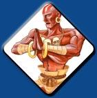 Dhalsim artwork #1, Street Fighter 2