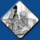 Dhalsim artwork #4, Street Fighter 2