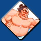 E. Honda artwork #1, Street Fighter 2