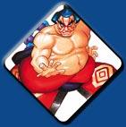 E. Honda artwork #2, Street Fighter 2