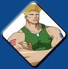 Guile artwork #1, Street Fighter Alpha