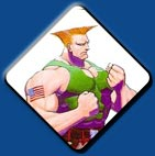 Guile artwork #7, Street Fighter 2