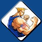 Guile artwork #9, Street Fighter 2