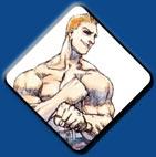 Joe artwork #1, Street Fighter 1