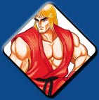 Ken artwork #2, Street Fighter 2