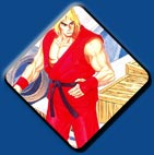 Ken artwork #3, Street Fighter 2