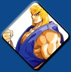Ken artwork #9, Street Fighter 2