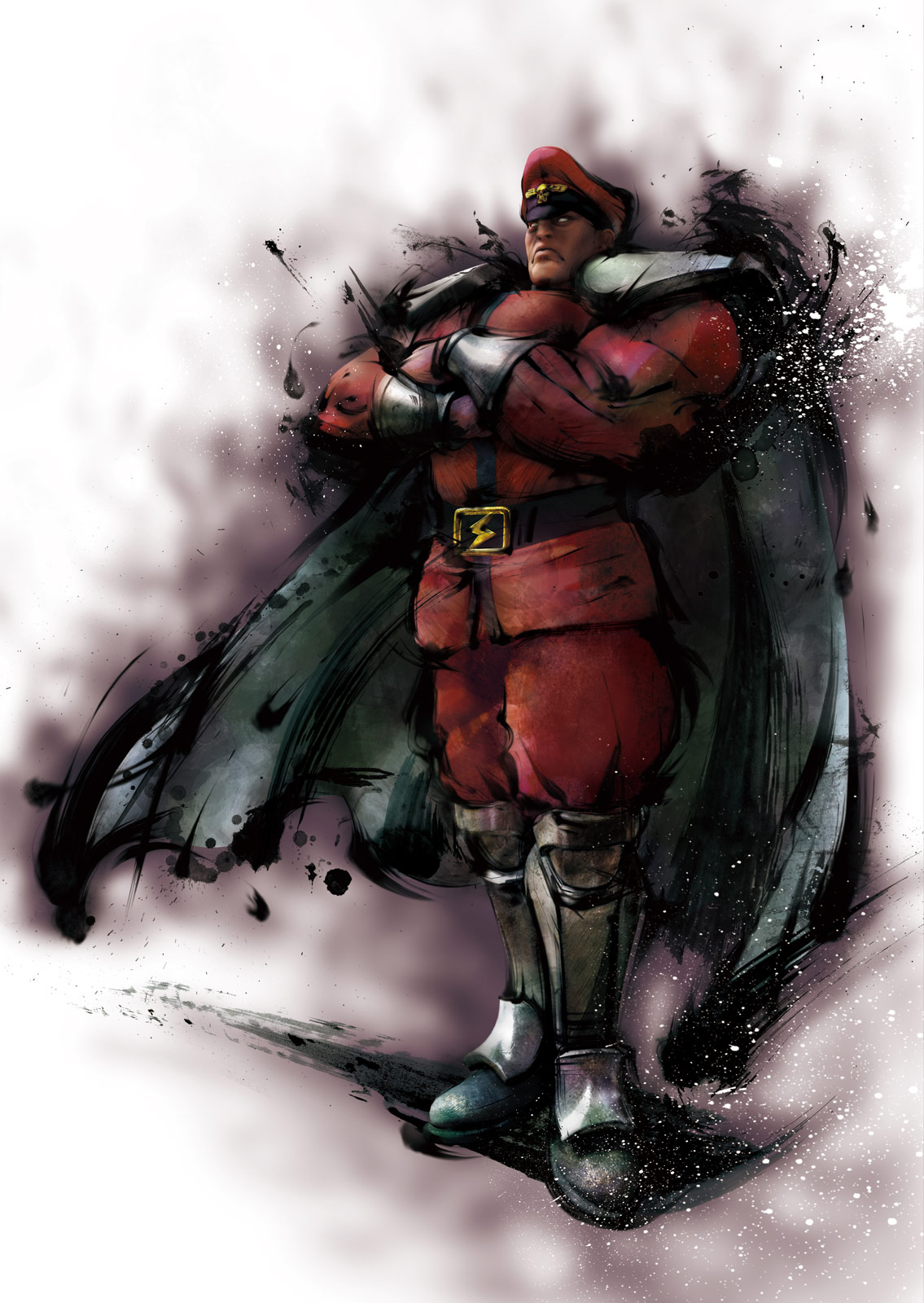 M. Bison artwork #1, Street Fighter 4: High resolution