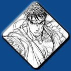 Ryu artwork #6, Street Fighter 2