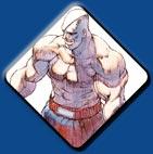 Sagat artwork #1, Street Fighter 1