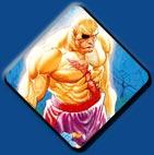 Sagat artwork #3, Street Fighter 2