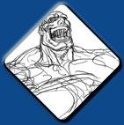 Sagat artwork #6, Street Fighter 2
