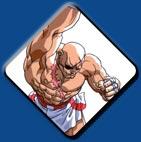 Sagat artwork #8, Street Fighter 2