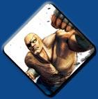 Sagat artwork #4, Super Street Fighter 4