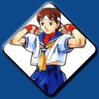 Sakura artwork #2, Street Fighter Alpha
