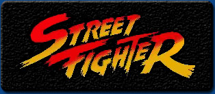 Street Fighter 1 artwork logo