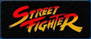 Street Fighter 1 artwork logo