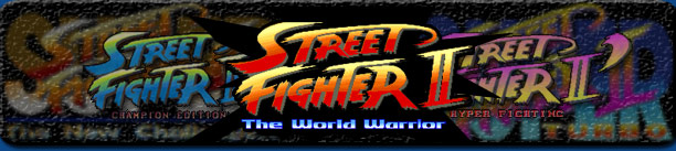 Street Fighter 2 artwork logo