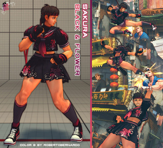 Sakura Street Fighter Alternate
