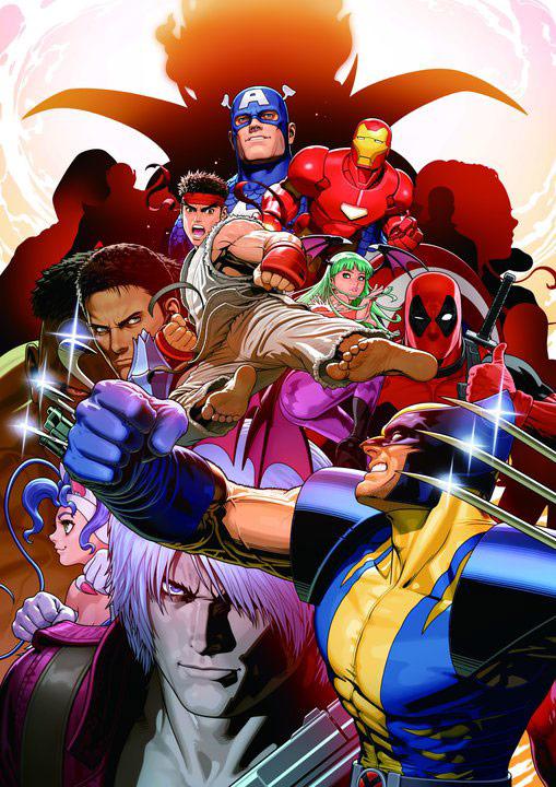 Marvel vs. Capcom 3 E3 poster, higher quality
