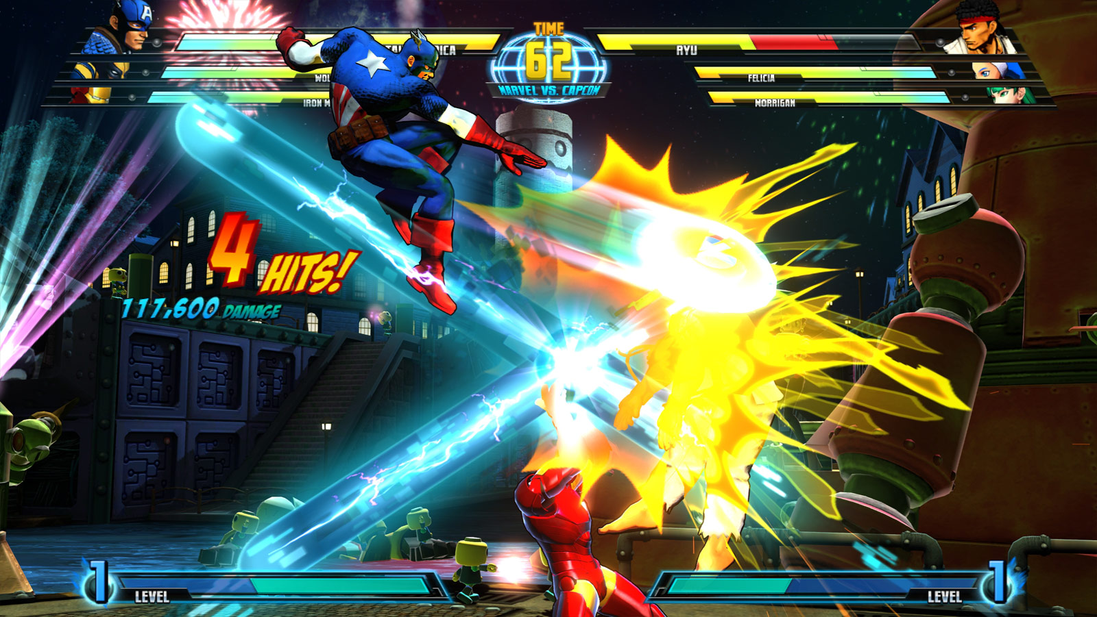 Marvel vs. Capcom 3 screen shot from E3 image #4