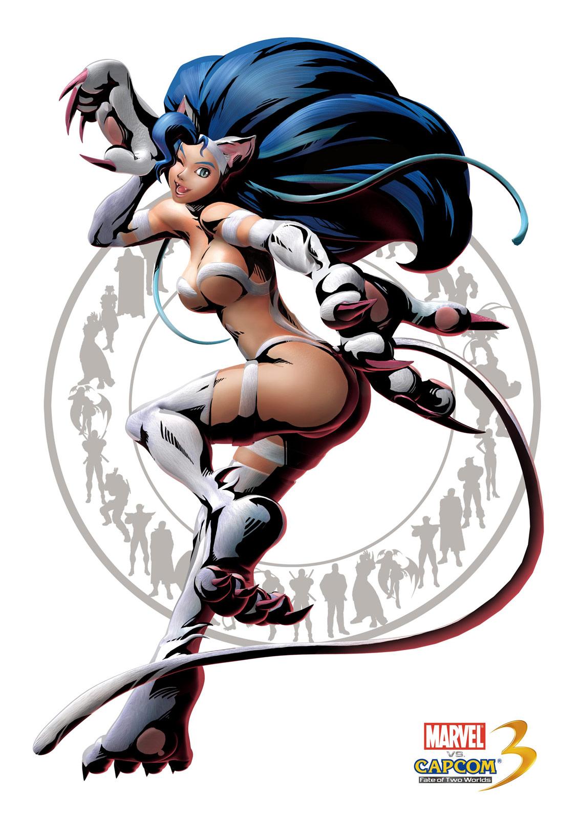 【裸】ヴァンパイアシリーズのフェリシア【エロ猫】