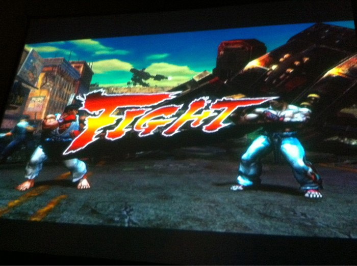 Street Fighter vs. Tekken screen shot #1