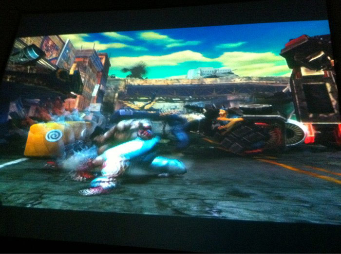 Street Fighter vs. Tekken screen shot #2