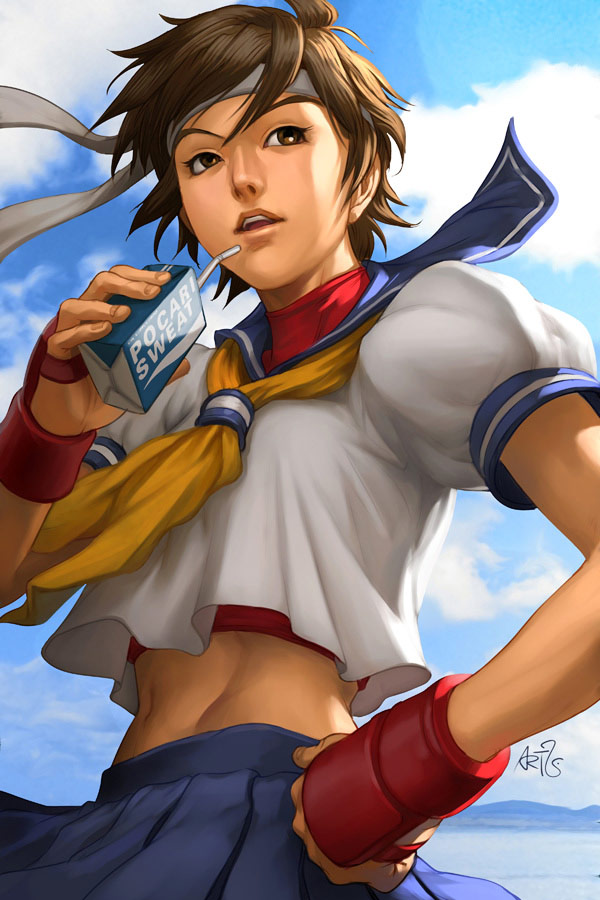 Artwork of Stan Lau, Street Fighter image #2