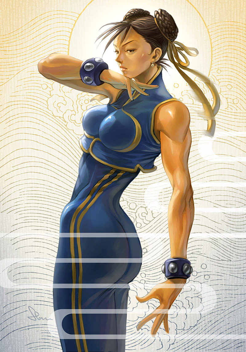 Artwork of Stan Lau, Street Fighter image #3