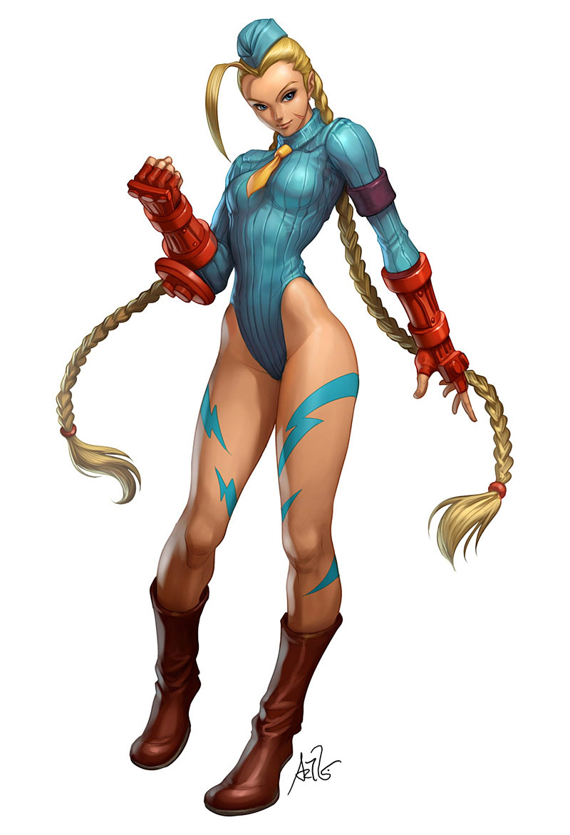 Artwork of Stan Lau, Street Fighter image #4