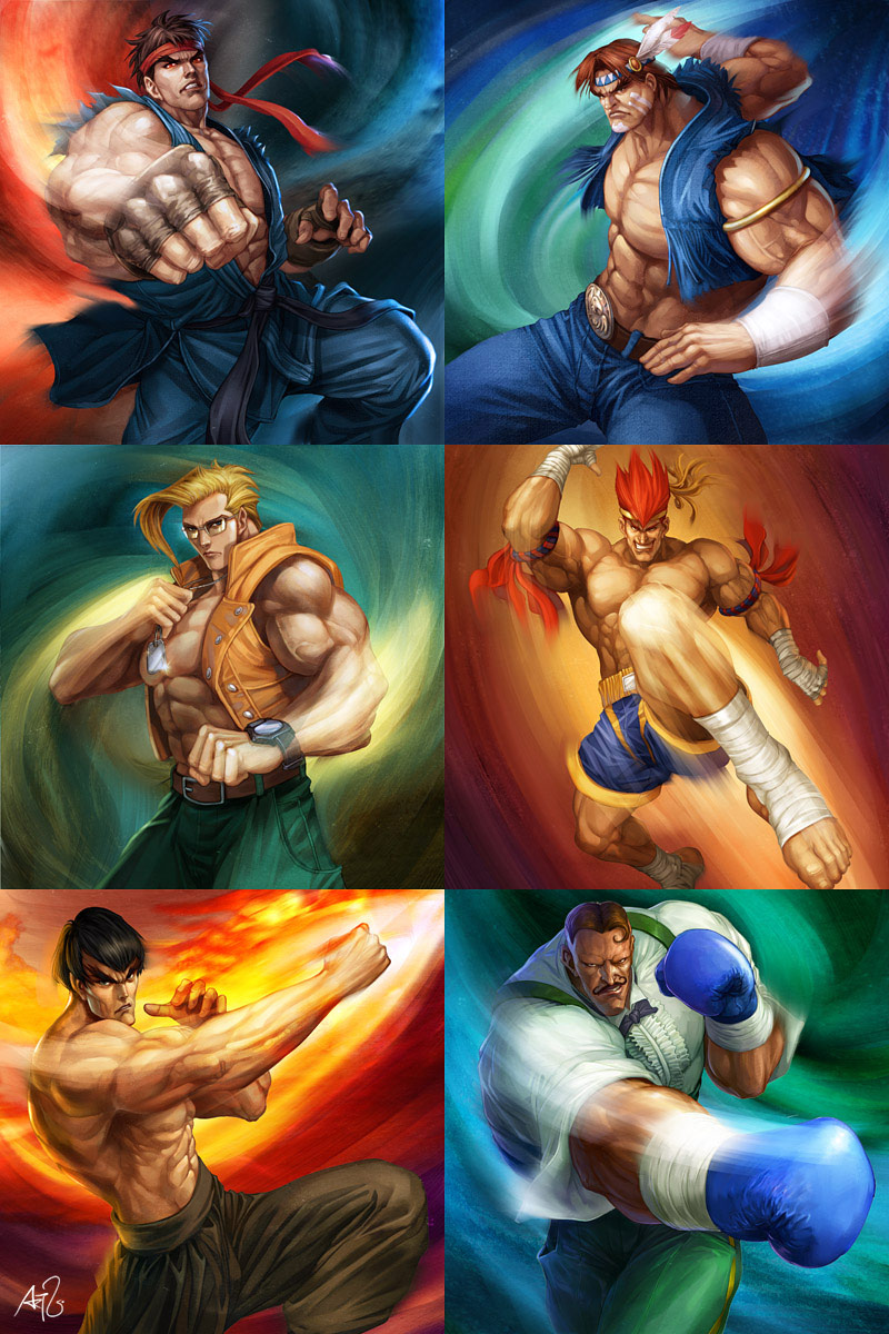 Artwork of Stan Lau, Street Fighter image #6