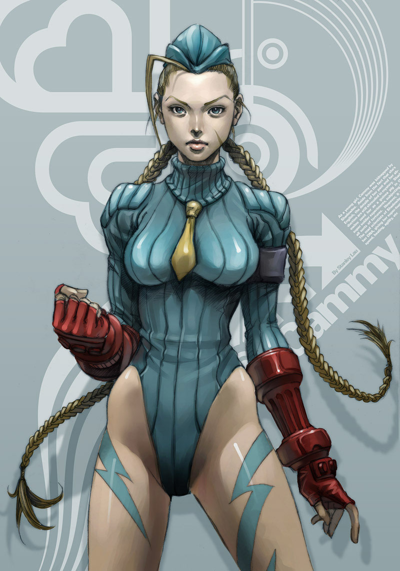 Artwork of Stan Lau, Street Fighter image #8
