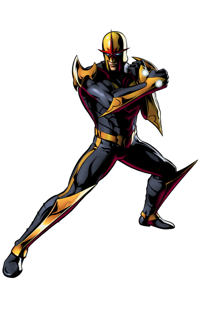 Nova's artwork for Ultimate Marvel vs. Capcom 3