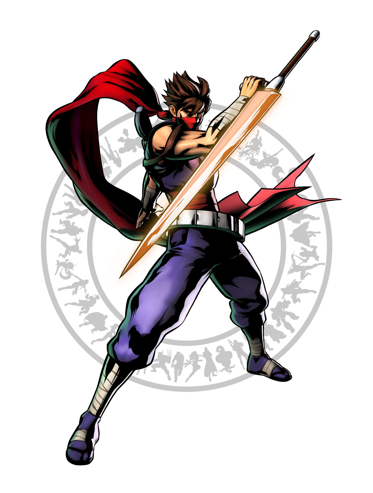 Strider's artwork for Ultimate Marvel vs. Capcom 3