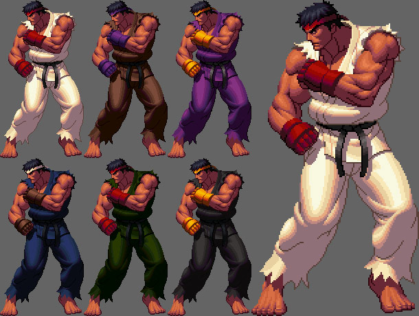 What if Street Fighter IV was done in KOF XII Style ?