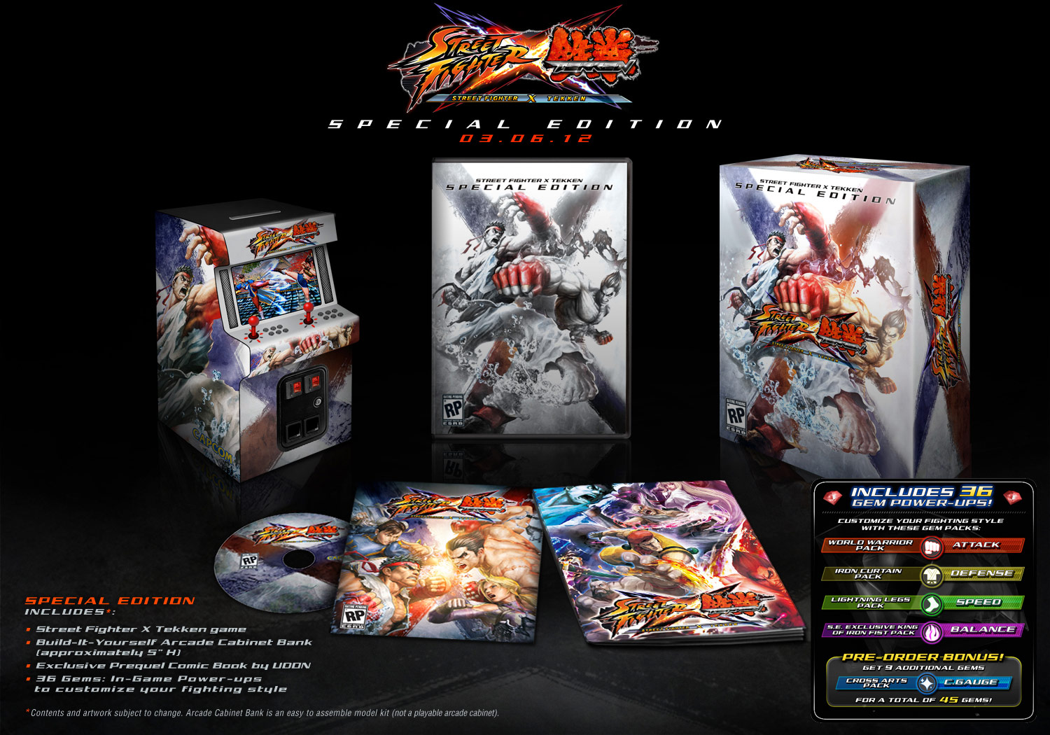 NYCC: SF X Tekken coming out on March 6th 2012 in both normal and collector's edition