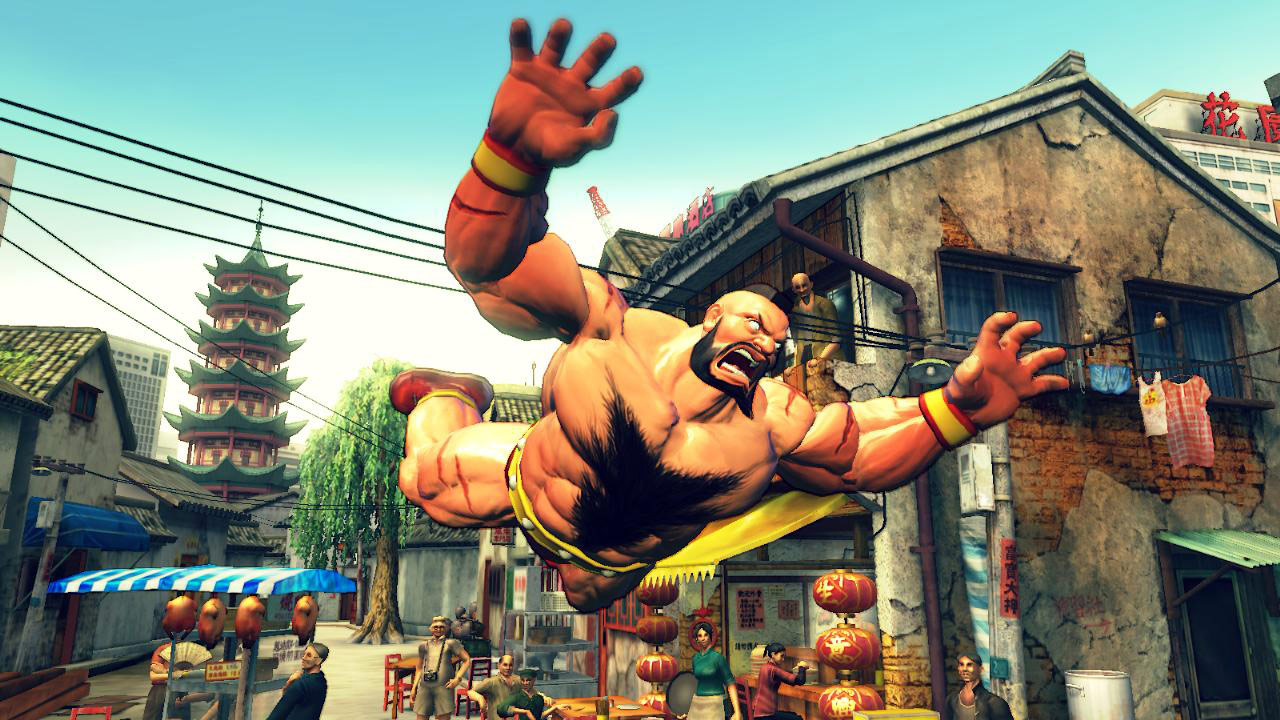 Step Your Game Up: Chapter 7 — Super Street Fighter 4 Arcade Edition v2012 dedication (character selection) image #2