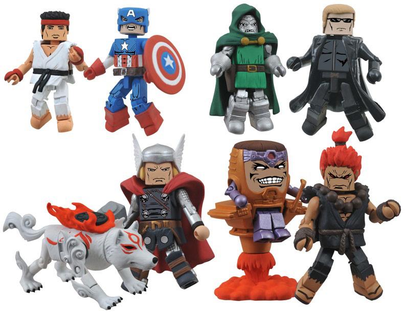 Marvel vs capcom 3 lego minimates 01