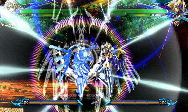 BlazBlue Chrono Phantasma Mu-12 and Nu-13 #21
