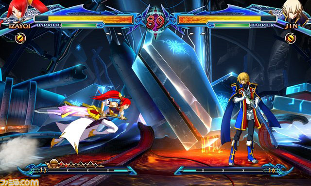 Blazblue: Chrono Phantasma new character Izayoi image #3
