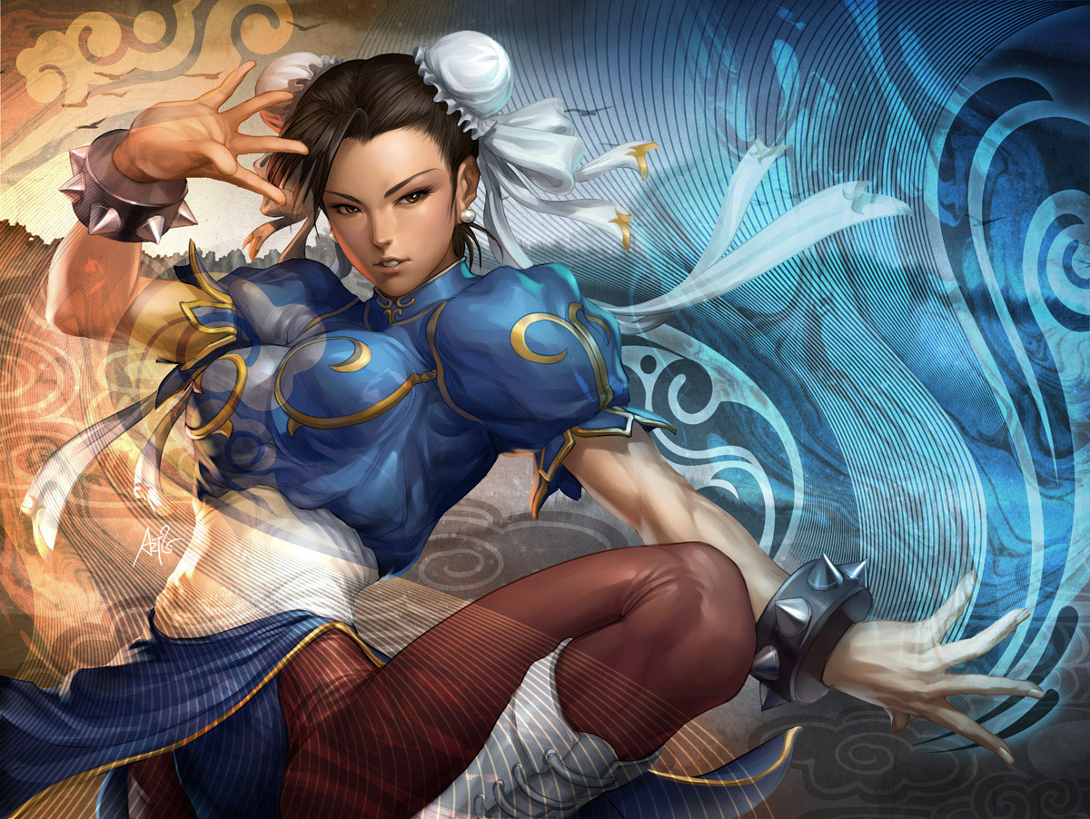 Fighting game artwork gallery for Stan 'Artgerm' Lau #2